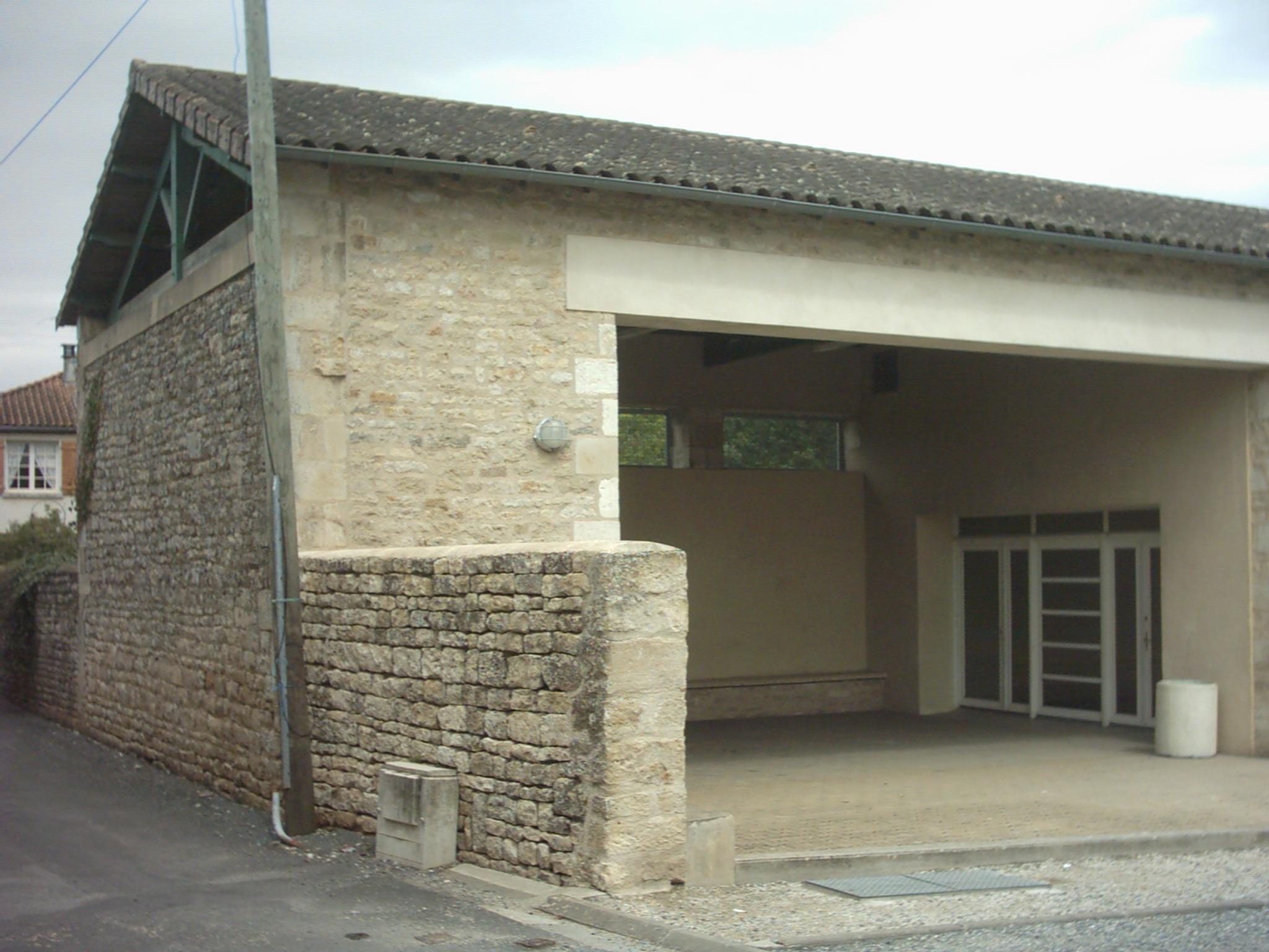 Salle Jardins Sépia Préau